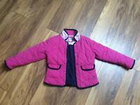 Girls Crew Clothing quilted jacket