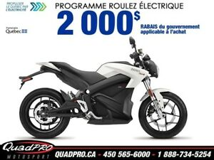 2018 Zero Motorcycles Zero SR ZF 14.4 + POWER TANK