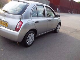 nissan micra automatic, low mileage, hpi clear, excellent runner