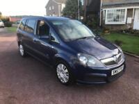 Vauxhall Zafira 1.9cdti 120bhp life 2008 57 plate 12 months mot 7 seater!