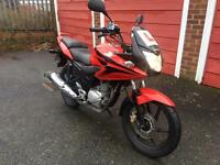 Honda CBF 125 2012 with free goodies