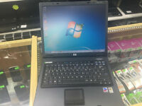 HP COMPAQ NC6120 LAPTOP. WIN 7 . DVD.RW. MS OFFICE.14.1""