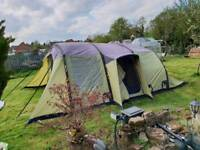 Vango evoque 600 airbeam tent and awning carpet and footprint