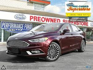 2017 Ford Fusion SE-***AWD, NAV, leather, sunroof***