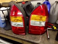 Mk1 Vauxhall Zafira rear lights