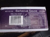 Barbeque Sauce Sachets Boxes