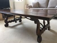 Coffee Table Attractive large wood