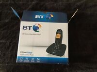 BT 1000 Cordless DECT Phone.As New .£6