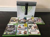 Xbox 360 Elite Black 120 GB bundle