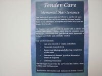Tender Care Memorial Stone and Lair Maintenance