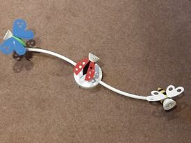 Children's Room light fitting with bee, butterfly and ladybird detail
