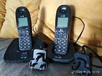 Twin BT Cordless phones.