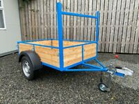 NEWLY BUILT 6 X 4FT CAR TRAILER ( lawnmower tractor power washer quad )