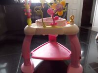 BRIGHT STARTS BABY BOUNCER (BABY WALKER STYLE)
