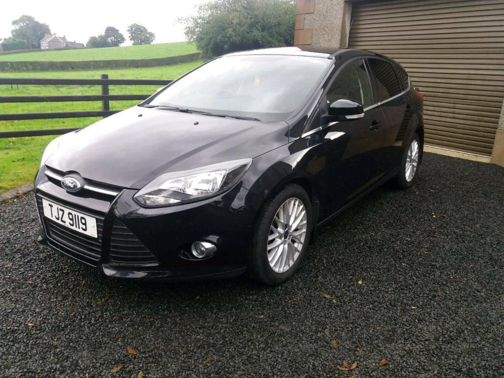 Late 2012 Ford Focus Zetec Black 30 Road Tax Long Mot In Water Pump Ballymena County Antrim Gumtree