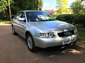 AUDI A3 1.6 PETROL 2000 LOW MLS 76K FULL SERVICE HISTORY VERY NICE CONDITION MOT