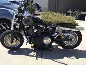 HARLEY DAVIDSON FATBOB - 12/2010 MODEL PROJECT PARTS MAKE OFFER Campbellfield Hume Area Preview