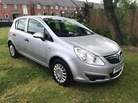 58 Plate 2008 Vauxhall Corsa Life with Air Con 5 Door 1.2 ideal 1st Car 12 Months Mot HPI Clear 5 dr