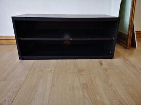Two TV/Hifi units. One glass and one in MDF (see pictures) £10 each.