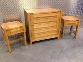 Marks & Spencer Sonoma oak chest of drawers & tables John Lewis habitat Laura Ashley loaf Lombok