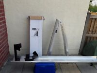 motorcycle ramp and other trailer parts