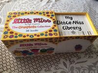 Complete Boxed Collection of 36 Little Miss Books