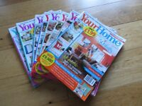 Your Home Magazine Back Issues x 8