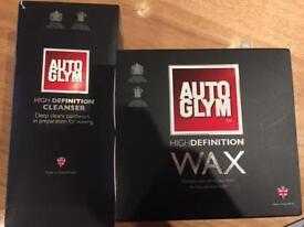 Auto Glym High Definition Cleanser & Wax