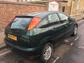 2005 Ford Focus 1.6 petrol 5 doors mot and tax