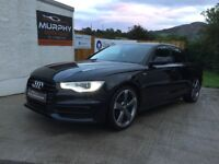 2013 Audi A6 s line 177 black edition model auto Finance available