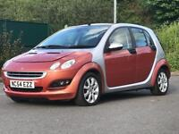 2004 (Dec 54) SMART FORFOUR 1.3 PASSION - Hatch 5 Doors - AUTO - Petrol - SILVER *PAN ROOF/PX WELCO