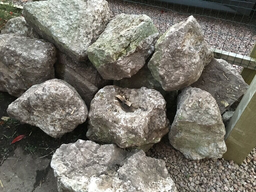 Very Large heavy Garden Rocks stones Boulders removed from our