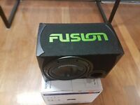 CAR PIONEER SUB WOOFER AND FUSION 1000 WATTS AMPLIFIER /BOX FOR SALE