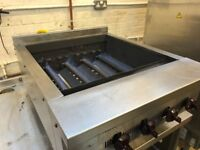 wolf 4 Burner Chargrill 60cm same as hobart vat included , peri peri grill, radiant grill