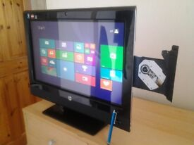 hp touchsmart 310 , touch screen , all in one pc