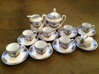 Art Deco Limoges espresso set
