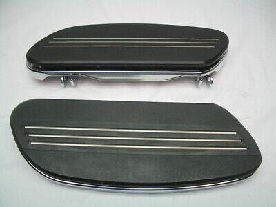 Stock OEM Streamliner Rider Footboards - Harley Touring & FL Softail FloorBoard