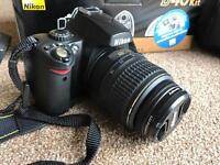 Nikon D40 kit