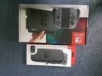 Nintendo Switch Grey Boxed. Almost brand new