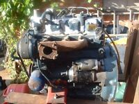 cubota 3 cylinder engine ex arlding plant in good condition can be seen running canvey island