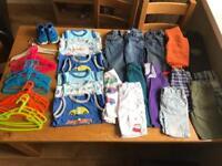 Age 3-4 boys bundle inc Nike trainers.