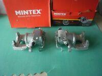 FORD TRANSIT MK7 REAR BRAKE CALIPERS MINTEX NEW UNUSED 2006--2012 2.2 2.4