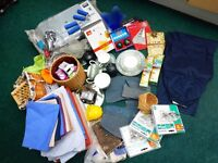 Various items suitable for your car boot sale