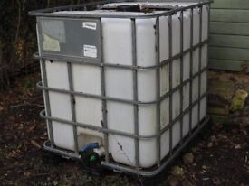 Second Hand Water Tank