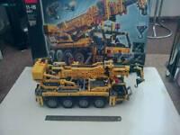 LEGO TECHNIC SET No 8421 (MOBILE CRANE )AS SHOWN ****£150 ***