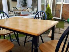 Dinner Table with Chairs