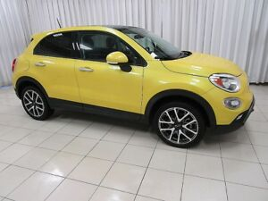 2017 Fiat 500X 5DR HATCH. w/ DUAL SUNROOFS, BACK-UP CAMERA and A
