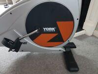 Exercise bike York fitness good working order