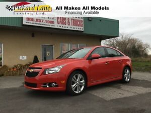 2014 Chevrolet Cruze 2LT $110.68 BI WEEKLY! $0 DOWN! CERTIFIED!!