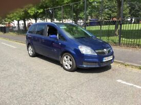 2008 (58) VAUXHALL ZAFIRA BREEZE 1.9CDTI 6 SPEED MANUAL BLUE 7 SEATS